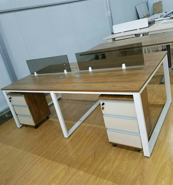 口字架六人位工位桌